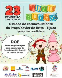 Bloquinhos de Carnaval: Roteiro para 23\02 !!